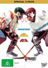 The Mighty Ducks Trilogy (DVD, 2009, 3-Disc Set CHAMPIONS D3 LIKE NEW FREE POST