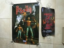 Arcade Sega Naomi House of the Dead 2 HOTD2 Marquee + Poster