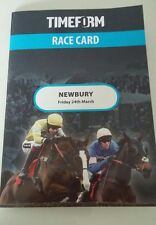 Timeform Racecard. Newbury Friday 24th March