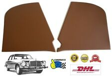 Mercedes-Benz W114 W115 Front Kick Panel Cover Kit L+R Ginger Tan Color