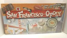 SAN FRANCISCO-OPOLY Monopoly Board Game California City Late for the Sky - Bay