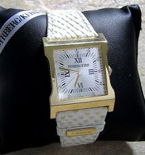 Dyrberg Kern Time Piece Uhr Damenuhr Armbanduhr G / White Armband in Snake Optik