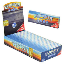 Elements Ultra Thin Rice 1 1/4 Cigarette Rolling Papers Box (25 packs)