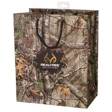 REALTREE CAMOUFLAGE PARTY BAG  - CAMO GIFT BAG, BIRTHDAY, CHRISTMAS, WEDDING