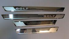 Stainless Steel Chrome 4 Door Sill Trim Embelm for VW Golf MK7 TDI TSI MK VII