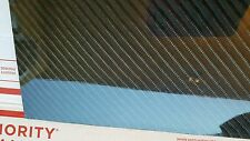 "Carbon Fiber Fiberglass Panel Sheet 18""×60""×1/4"" Glossy One Side 4x4 Twill"