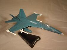 DIECAST AIRPLANE METAL F-18 HORNET TOP GUN U.S. NAVY