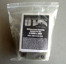 OTIS 5.56 mm .223 RIFLE & 9mm Pistol US military issue Cleaning Kit W/ tan pouch
