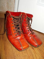 Airstep Schnürstiefel Boots orangerot