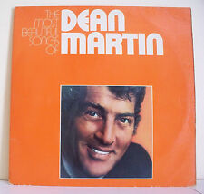 "2 x 33T Dean MARTIN LP 12"" THE MOST BEAUTIFUL SONGS OF - SITTIN'ON TOP OF WORLD"