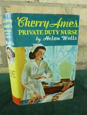 Nice Vintage Cherry Ames Private Duty  Nurse book 12 1960 Edition with with DJ