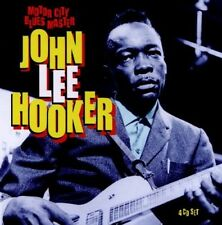 JOHN LEE HOOKER - MOTOR CITY BLUES MASTER 4 CD NEU