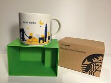 Starbucks -You are Here- New York City Mugs 14 FL OZ NEW NIB