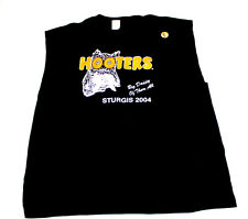 Hooters Uniform Sleeveless Biker T-Shirt XXL costume pirate ride work halloween