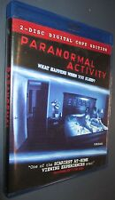 DVD Paranormal Activity 2 Disc Digital Copy Edition w/Download Code for PC Movie
