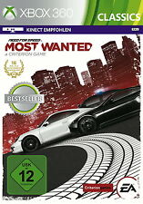 Need For Speed: Most Wanted -- Classics (Microsoft Xbox 360, 2014, DVD-Box)