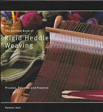 BOOK - RIGID HEDDLE WEAVING - Rowena Hart Ashford 2014ed - for rigid heddle loom