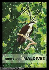 Maldives 2006 MNH SS, Birds of Prey, Sea hawk, Fish Eagle or Fish Hawk
