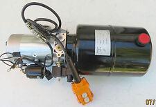 24Volt Hydraulikpumpe Hydraulikaggregat für Kipper mit E - Bedienteil