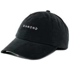 "Diamond Supply Co ""Sport Hat"" Strapback (Black) Men's Unstructured Polo Dad Cap"