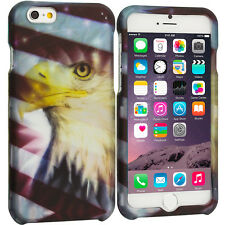 For Apple iPhone 6S (4.7) Hard Design Protective Case Cover USA Eagle Flag