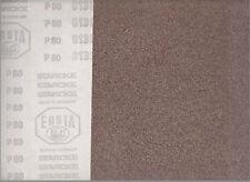 Feuille abrasive à sec - papier de verre - 230 x 280 mm - GRAIN P80