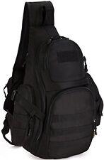 DCCN Sling Bag Molle Chest Pack Hiking Tactical Sling Shoulder Bag For Men /