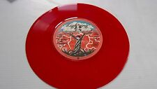 JET BRONX & THE FORBIDDEN AINT DOIN NOTHIN + I CANT STAND IT RED VINYL NM COPY