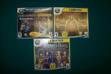 3 NEW GAMES HAUNTED HOTEL Episodes 5 & 6 & GRIM TALES PART 3,4 HALLOWED LEGENDS