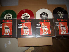 "ALL 4 BRUJERIA VIVA PRESIDENTE TRUMP 7"" 45 WHITE RED GREEN & BLACK VINYL NEW RSD"