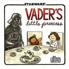 Vader's Little Princess by Jeffrey Brown (2013, Hardcover) -I send worldwide
