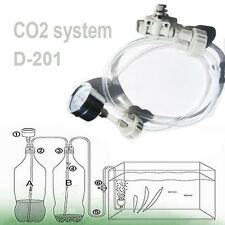 DIY CO2 system Kit D201 tube valve guage bottle cap for aquarium moss plant dui