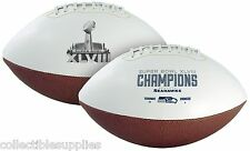 NFL Super Bowl XLVIII 48 Seattle Seahawks Champions Official Autograph Football