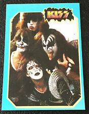 KISS Band 1997 Argentina International Rock Cards Gene Simmons Paul Stanley