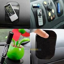 Anti-Slip Car Dashboard Sticky Pad Non-Slip Mat for Cell Phone Mobile Key Black