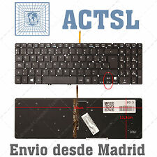TECLADO ESPAÑOL para Acer Aspire M3-581TG With Backlit Board