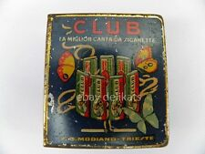CLUB SIGARETTE Modiano Trieste cartine cigarettes papier fiammiferi matches