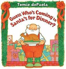 Guess Who's Coming to Santa's for Dinner?, dePaola, Tomie, New Books