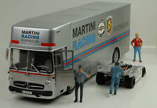 1968 Porsche Martini Racing Renntransporter Mercedes-Benz O 317 1:18 Schuco