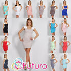 Women's Elegance & Sensual Cocktail Dress Bodycon Scoop Neck Size 8-12 8434