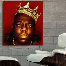 Poster Mural Biggie Notorious BIG Rap Hip Hop 35x39 inch (90x100 cm) on Canvas