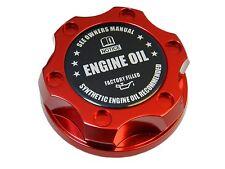 RED SYNTHETIC BILLET ENGINE OIL CAP FOR FORD 6.0L 7.3L TURBO DIESEL BK