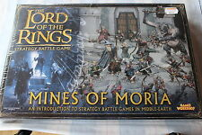Games Workshop LoTR Mines of Moria Lord of the Rings Boxed New Sealed Army OOP