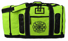 Fluorescent Yellow Lightning X Quad Vent Firefighter Turnout Gear Bag, LXFB-45M