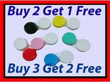 1 x Contact Lens Case Care, Colored Double Box Free Shipping