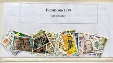 España Sellos del año 1979 completo (CQ-386)