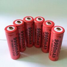 UNE PILE GTF 18650 3.7V 9900mAh Rechargeable BATTERY Li-ion.