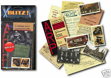 Blitz Memorabilia Gift Pack with over 20 pieces of Replica Artwork