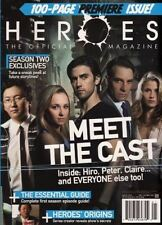 HEROES the official magazine #1 newstand 100 page TITAN 2008 NBC heroes reborn