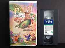 Once Upon a Forest VHS, 1993  Leading Role: Ben Vereen, Michael Crawford